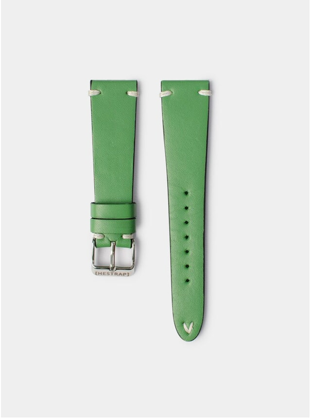Green Zico Leather Watch Strap
