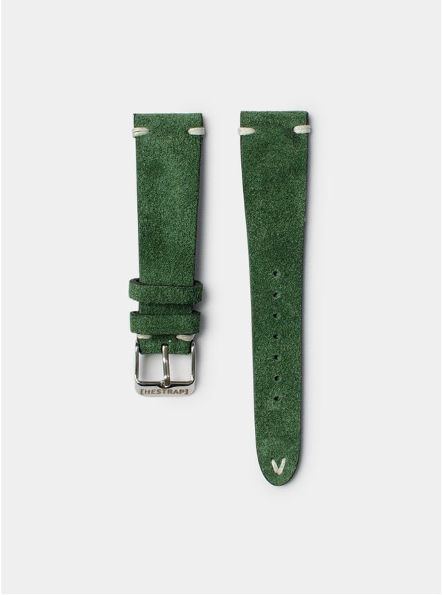 Green Zico Suede Watch Strap