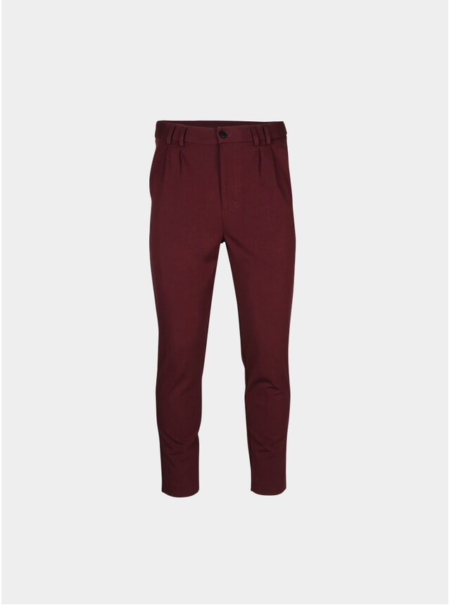 Burgundy Oliver Trousers
