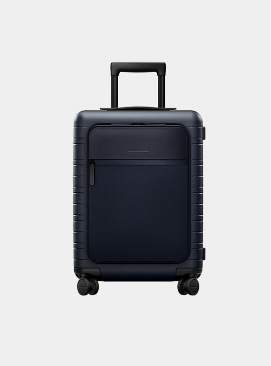 Blue / Multi Shell Model M5 Suitcase