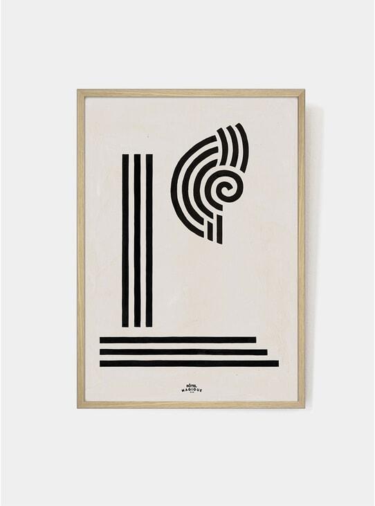 Column And Shell Art Print