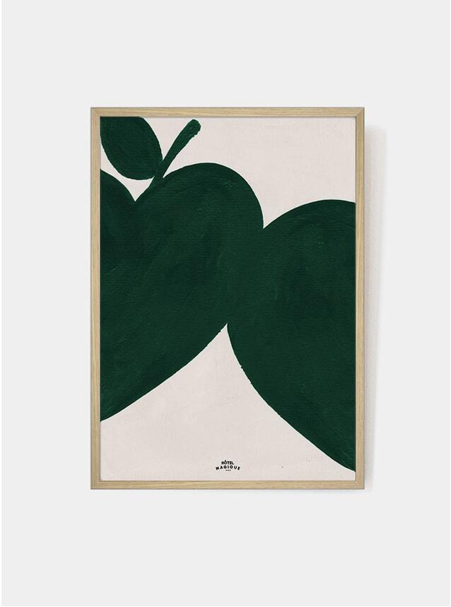 I Like My Apples Green Print