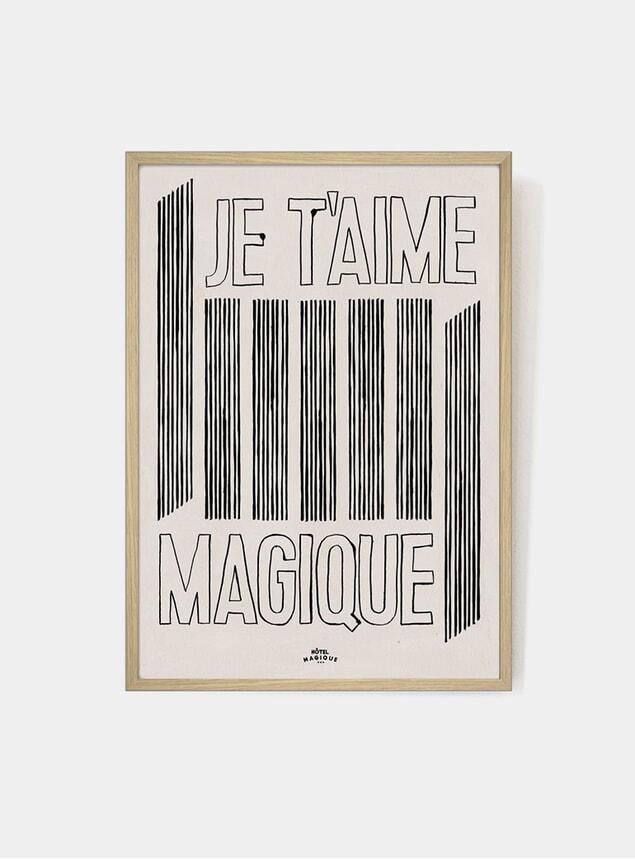 Je t'aime Magique Art Print