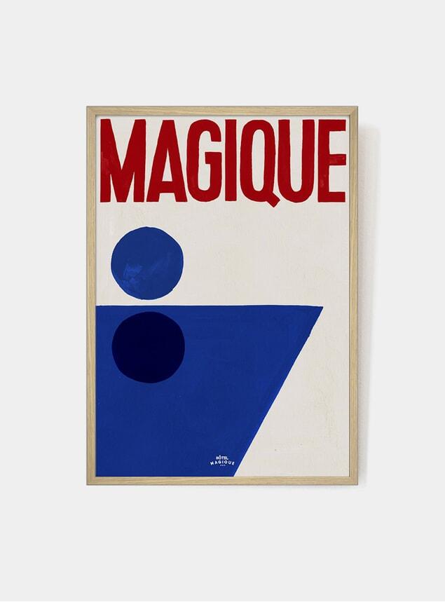 The Splash of Magique Art Print