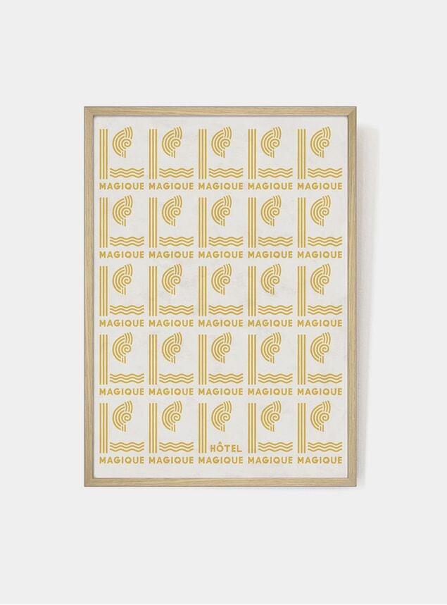 Yellow Magique Print