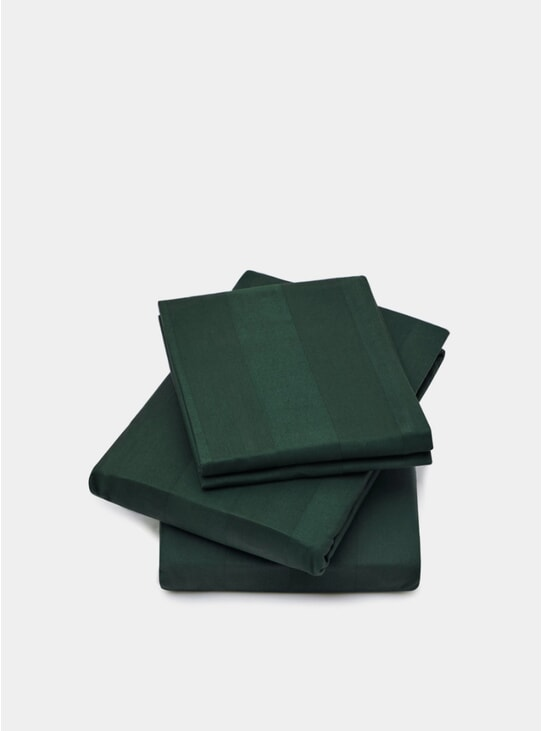 Green Classic Collection Bedding Set