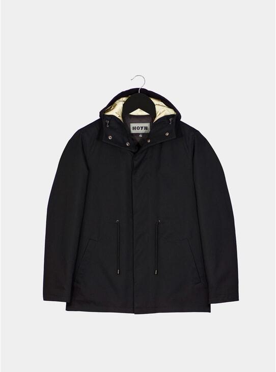 Black Halo Hooded Jacket