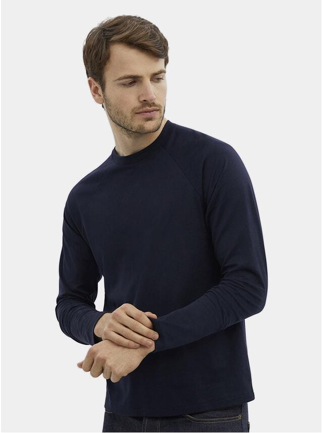 Blue Raglan L/S T Shirt