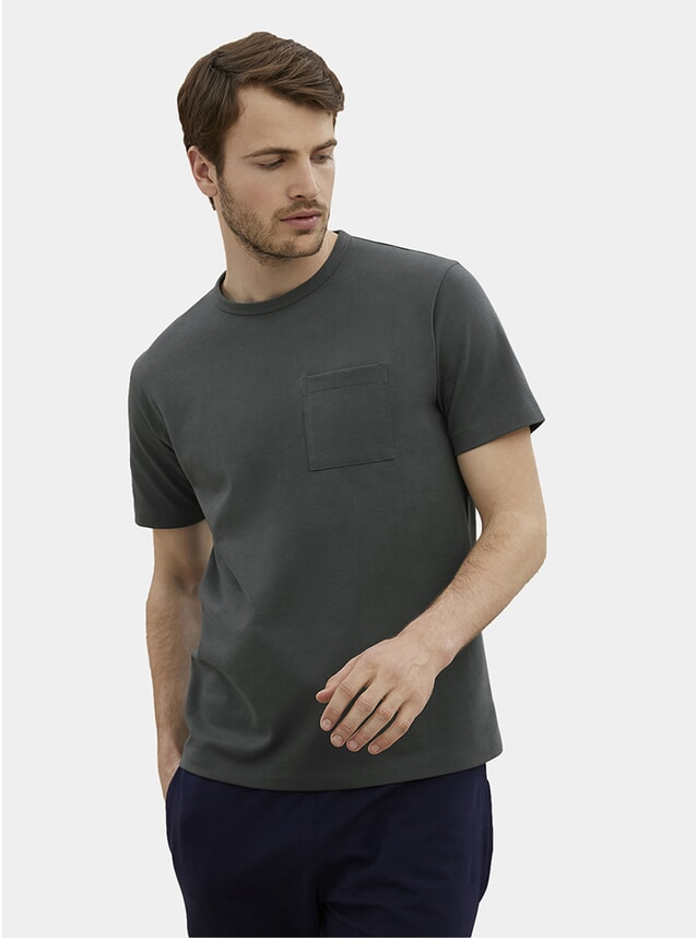 Steel Grey HW Pocket T Shirt