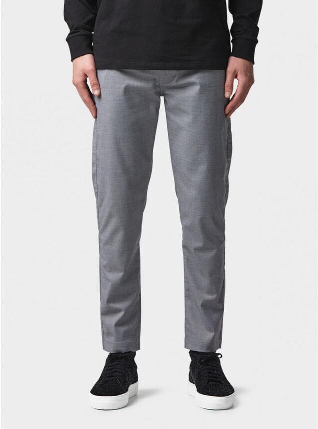 Grey Twill Smart Pant