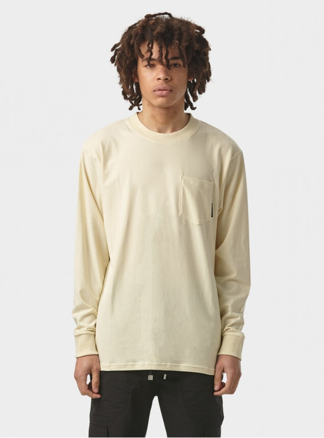 Vanilla Long Sleeve Tee