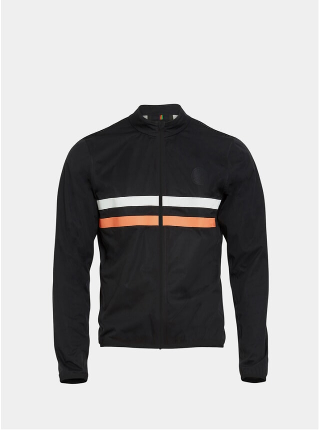 Black / Orange Marlow II Waterproof Jacket