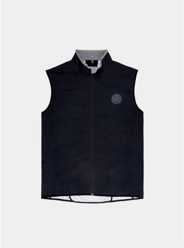 Black Sheen Waterproof Gilet
