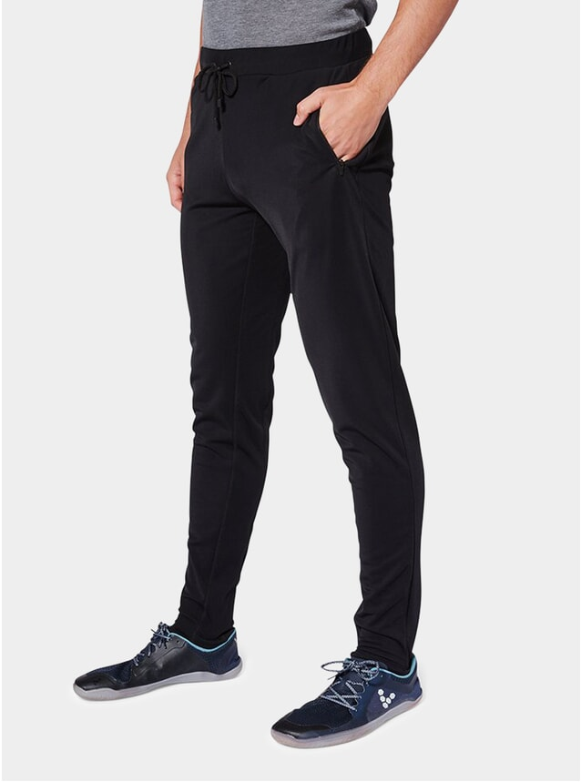 Fravel Black Royston Slim-Fit Joggers