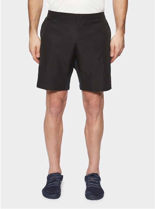 "Gravel Black 8"" Brighton Shorts"