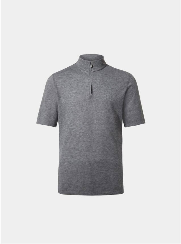 Pebble Sidmouth Half Zip Top