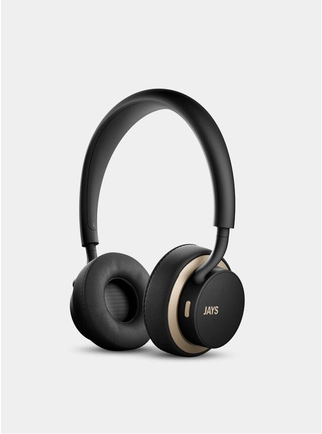 Black / Gold U-Jays Wireless Headphones