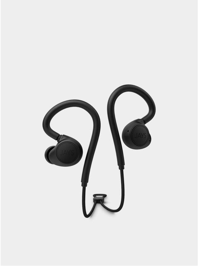 Black M-Six BT Black Wireless Earphones