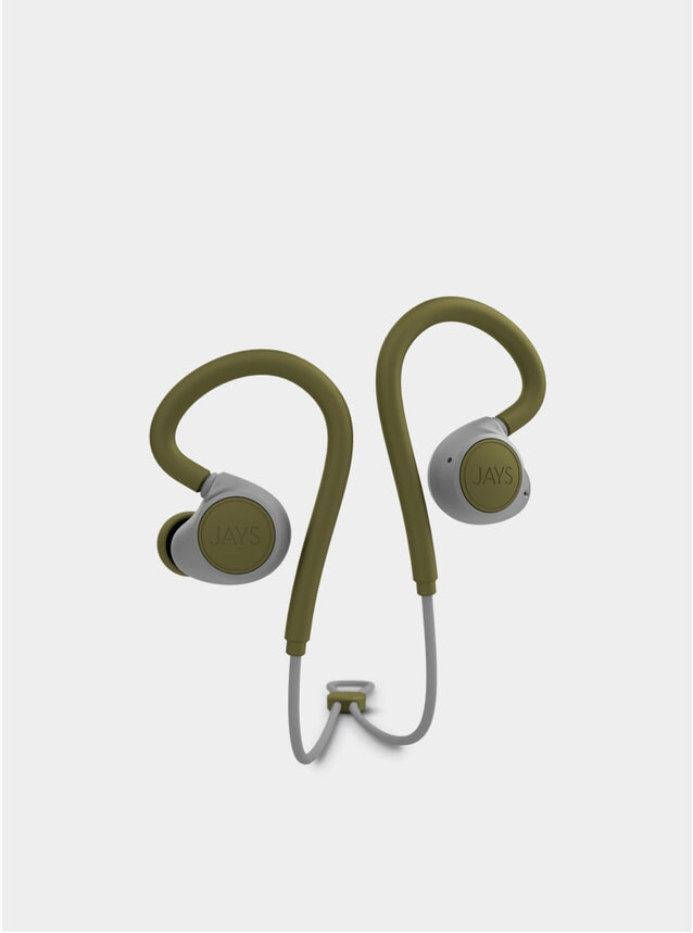 Moss Green M-Six BT Black Wireless Earphones