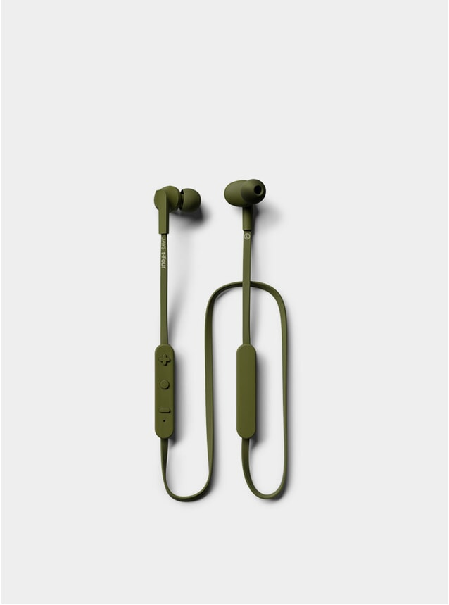 Moss Green T-Four BT Earphones