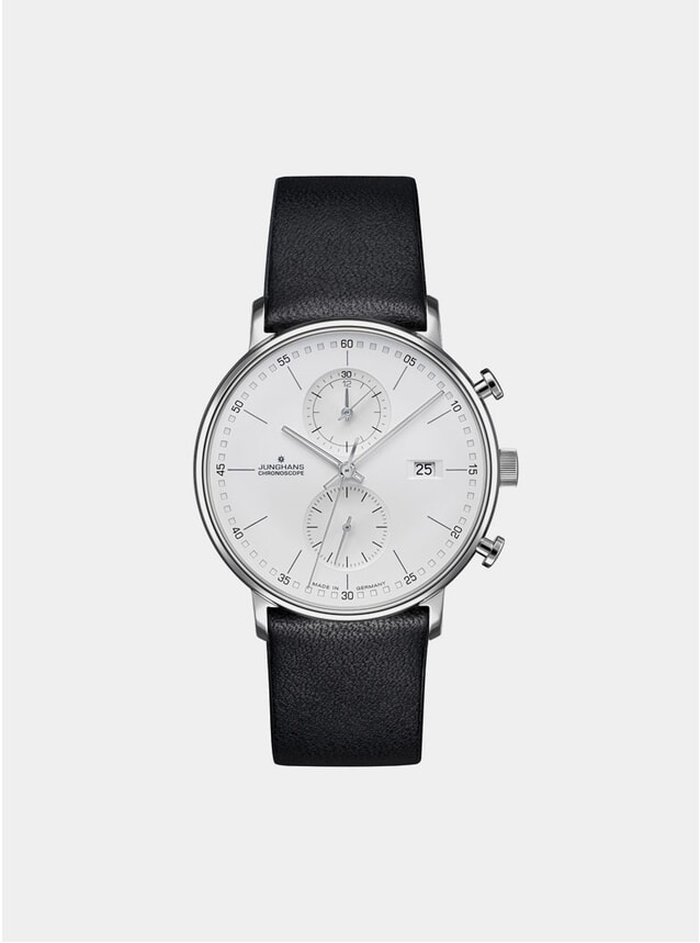Black / White Form C Chronoscope 041/4770.00 Watch
