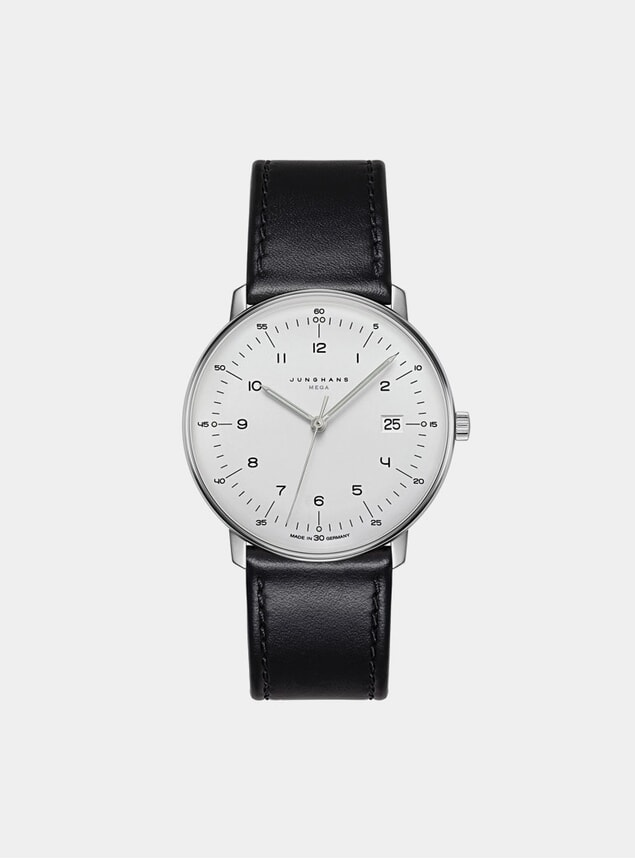Black / White Max Bill Mega 058/4820.00 Watch