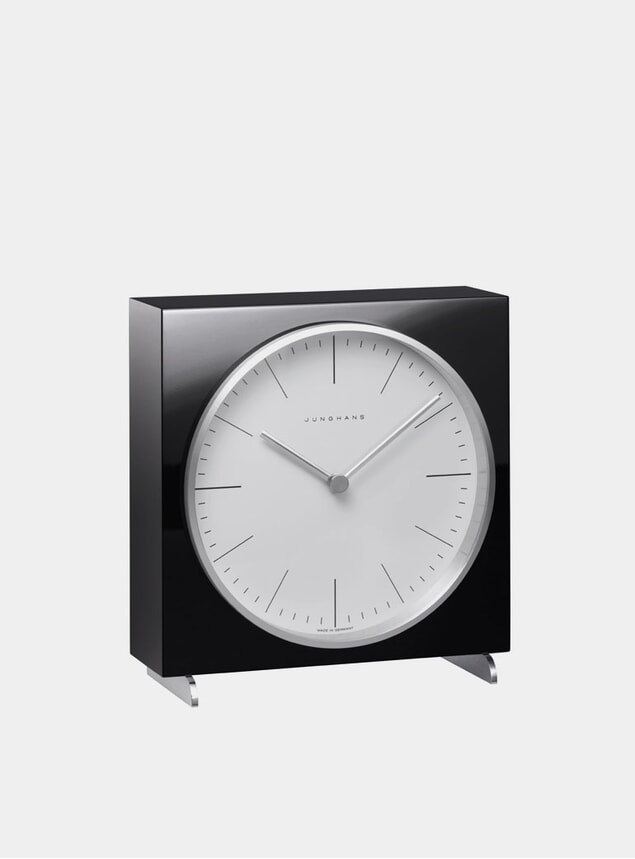 Black 2202 Quartz Table Clock
