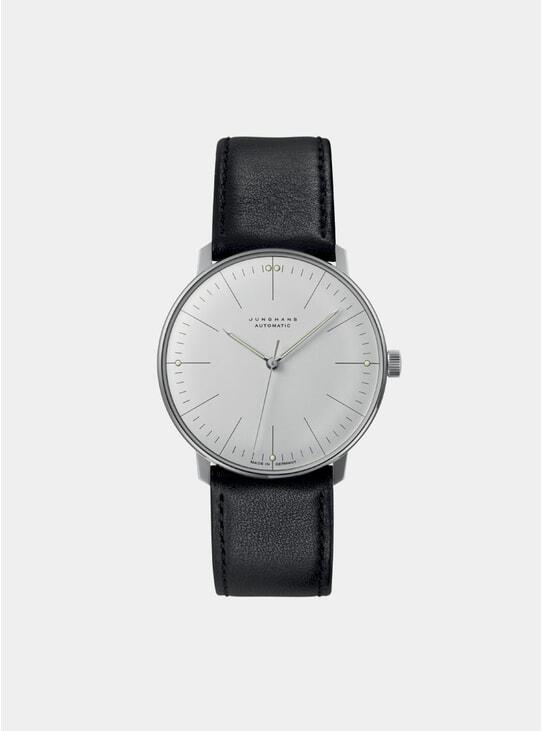 Black Max Bill Automatic 027/3500.04 Watch