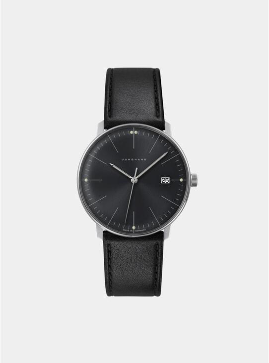 Black Max Bill Quartz 041/4465.00 Watch