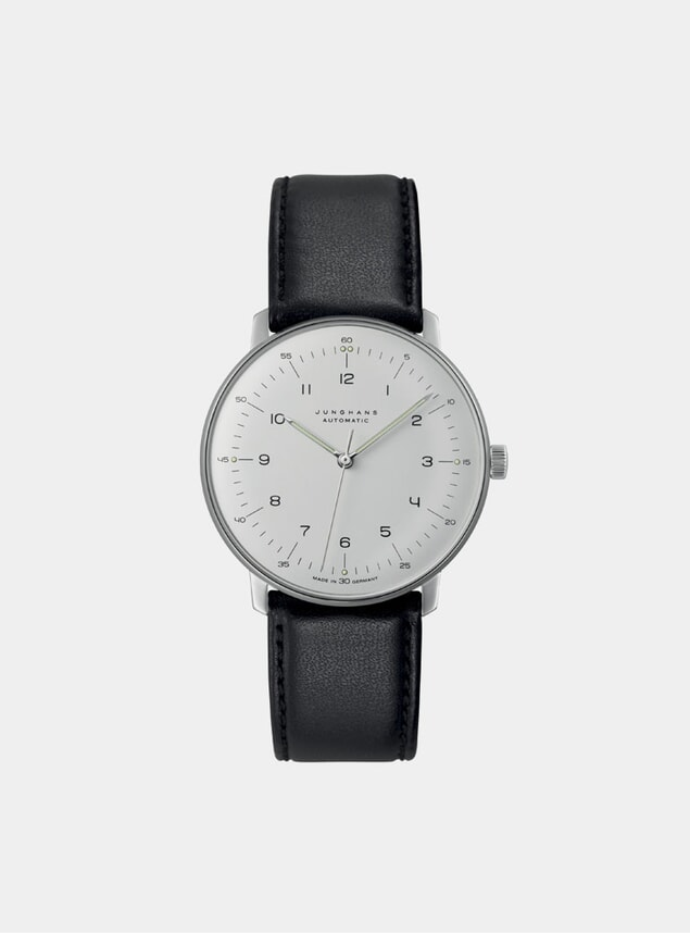 Black / White Max Bill Automatic 027/3500.04 Watch