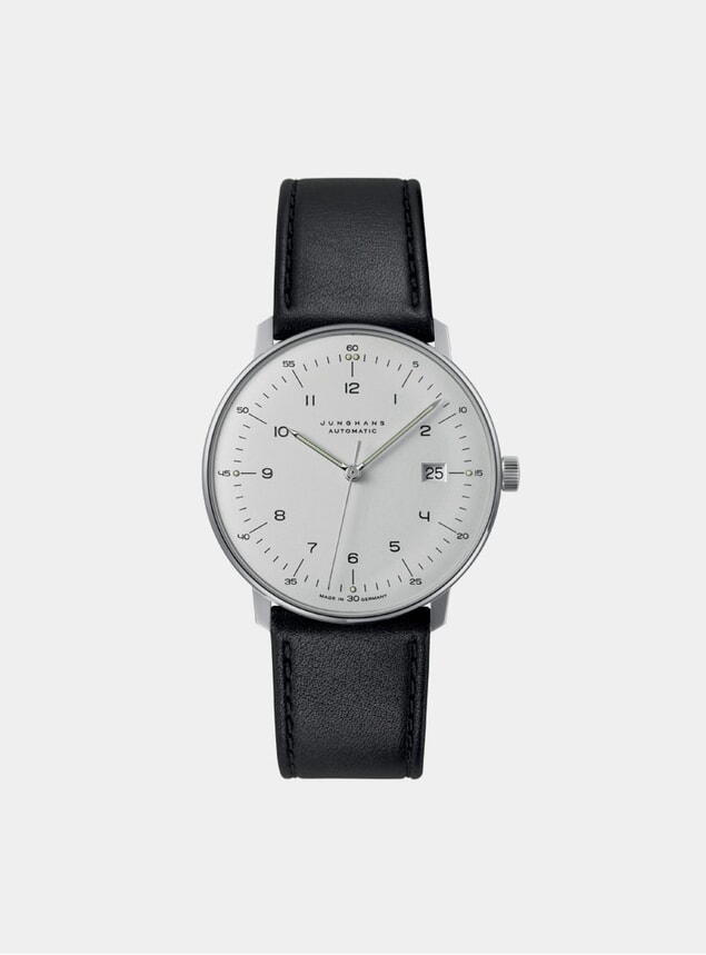 Black / White Max Bill Automatic 027/4700.04 Watch