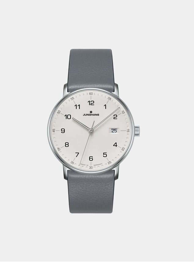 Grey / White Form Quartz 041/4885.00 Watch