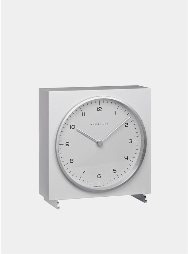 White 2200 Quartz Table Clock