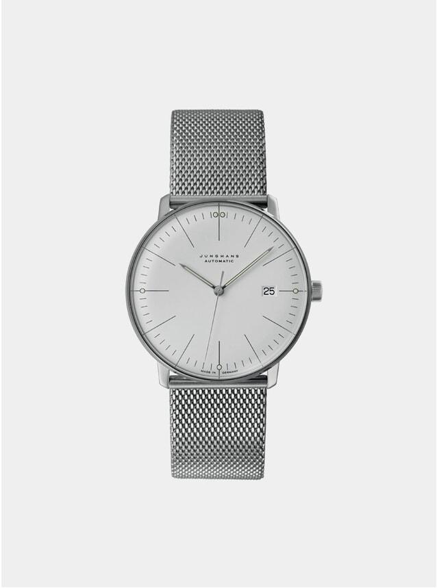 White / Stainless Steel Bracelet Strap Max Bill 027/4002.48 Watch