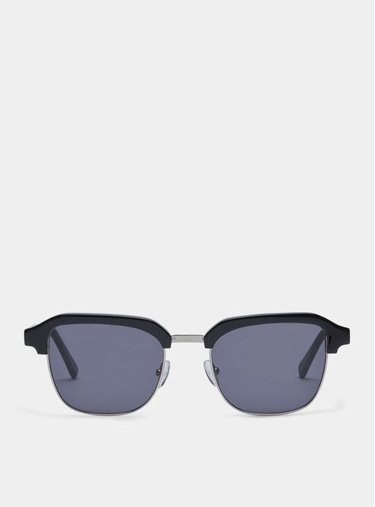 Black / Metal Grey Continental Sunglasses