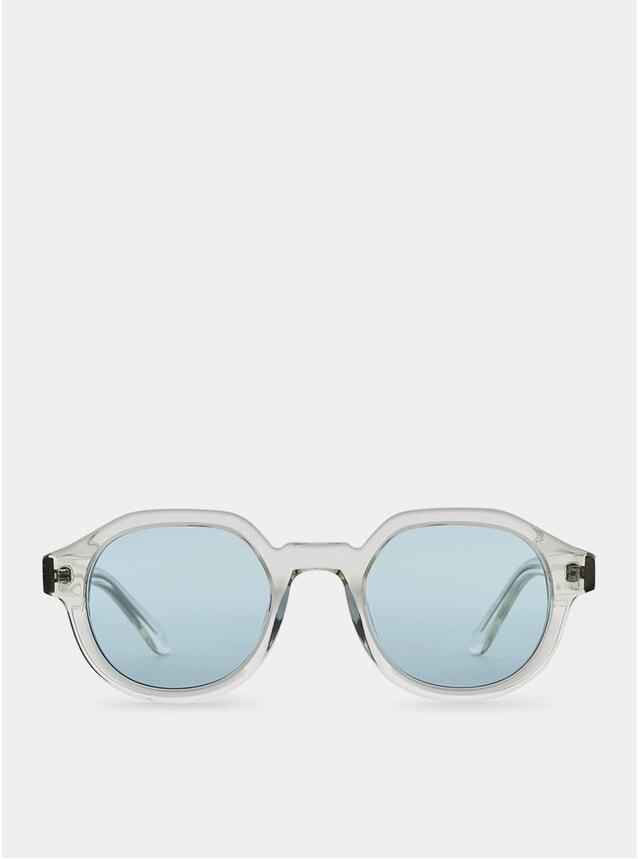 Clear / Blue Palermo Sunglasses