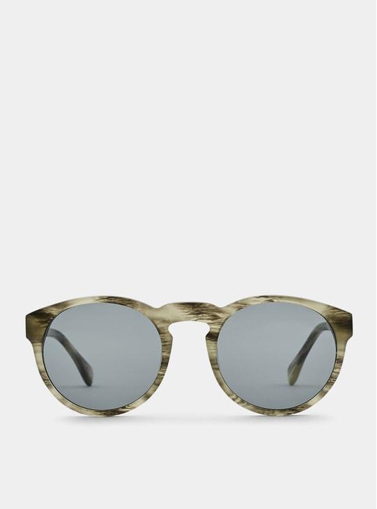 Grey / Tiger Grey Blow Sunglasses