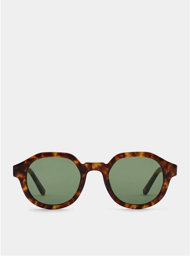 Turtle / Green Palermo Sunglasses