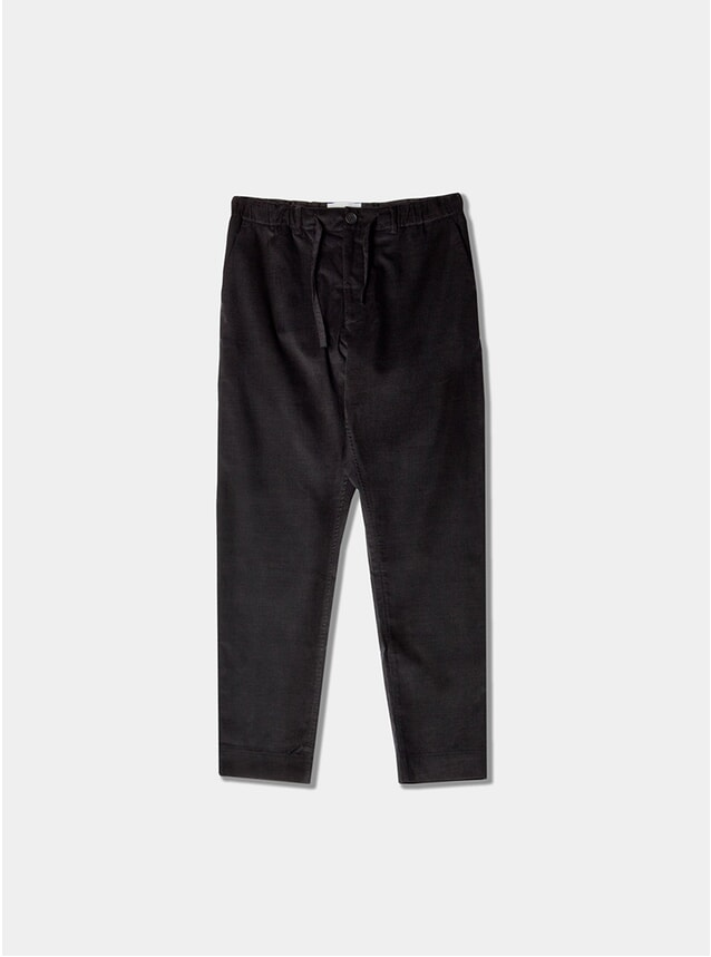 Black Corduroy Inverness Trousers