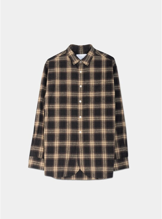 Brown / Sand Check Liverpool Shirt