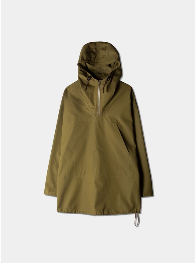 Military Green Water Repellent Nevis Smock