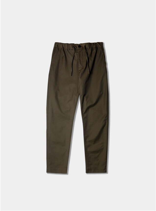 Olive Repellent Inverness Trousers