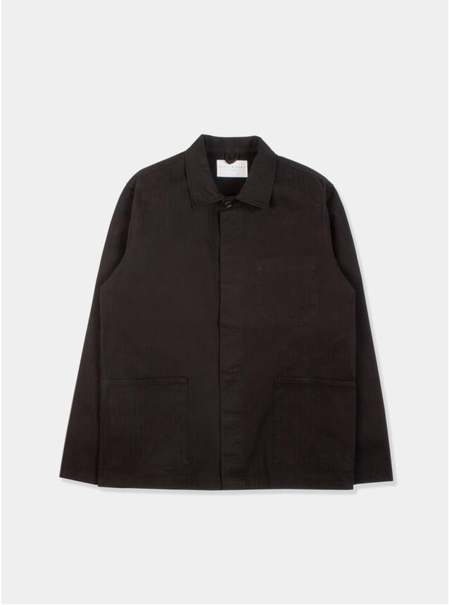 Black Arboath Shirt Jacket