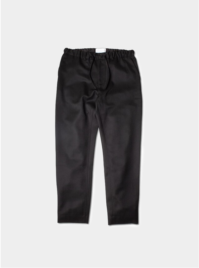 Black Inverness Trousers