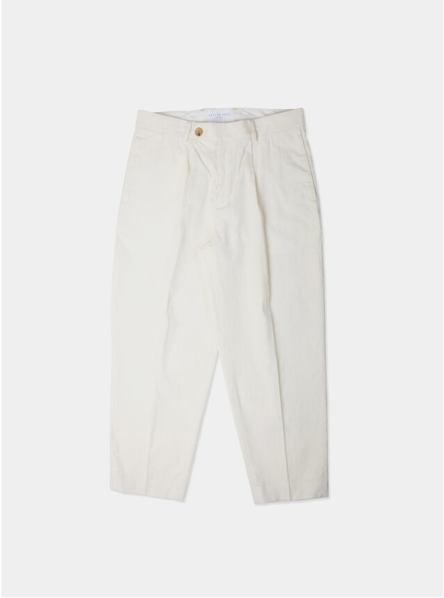 Off White Cord Wick Trousers