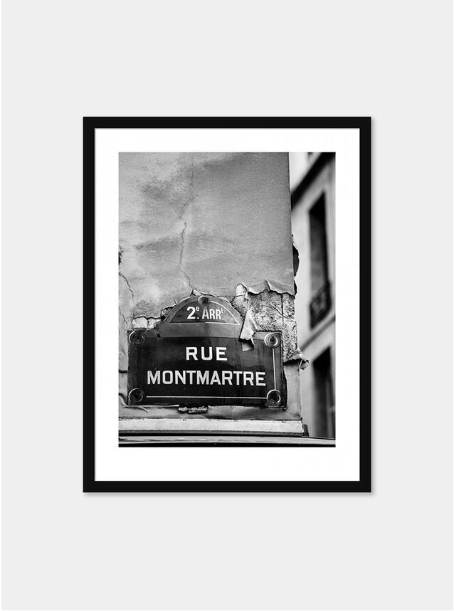 Rue Montmarte Photograph
