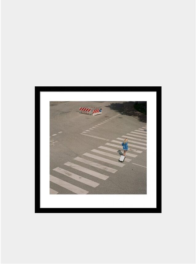 Girl Crossing Print