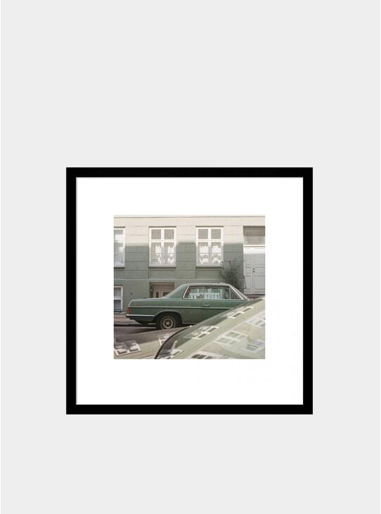 Green Mercedes Photograph