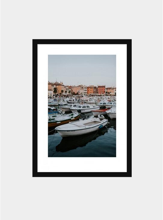 Ravinj Harbour Photograph