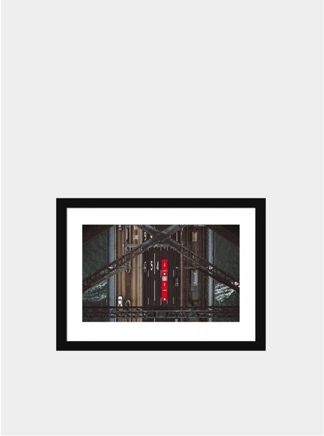 Red Stripe Photograph
